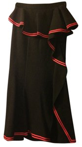 Givenchy Skirt black with red trim