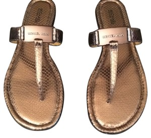 Michael Kors nickel Sandals