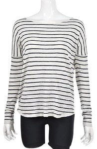 Vince Womens Navy Boat Sweater