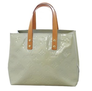 Louis Vuitton Silver Monogram Patent Leather Satchel