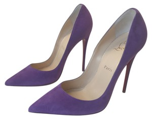 Christian Louboutin So Kate 120 Louboutin So Kate Louboutin Heels Purple Pumps