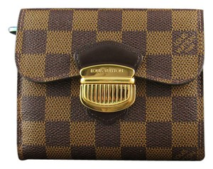 Louis Vuitton LOUIS VUITTON PF Joey Damier Ebene Luxury Wallet N60034