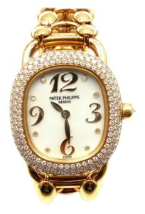 Patek Philippe Patek Philippe Golden Ellipse Lady's 18k Yellow Gold Diamond Watch