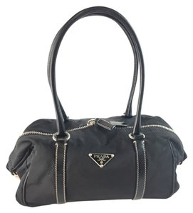 Prada Vela Nylon Shoulder Bag