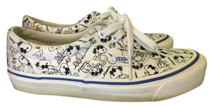 Vans Sneakers Peanuts Graphic White/Black Athletic