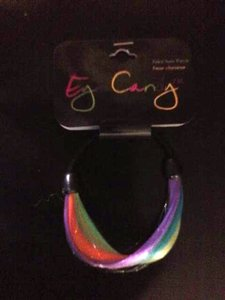 Faux Multi-colored hair band **NEW**