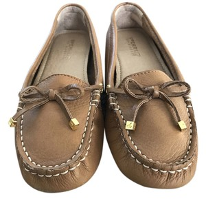 Sperry Leather Tan Flats