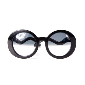 Chanel Black Circle Eye Sunglasses