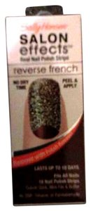 Sally Hansen Glitter Reverse French Nail kit *NEW*