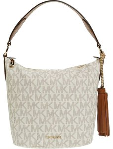 Michael Kors Handbag Mk Signature Hobo Bag