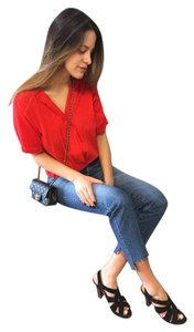 Ella Moss Stella Top Cherry red