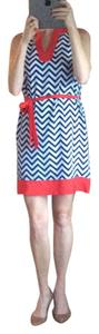 Mudpie short dress Blue and red on Tradesy