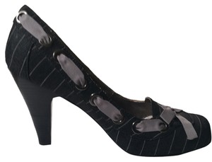 Tribeca by Kenneth Cole Charcoal Ribbon Steve Madden grey Platforms