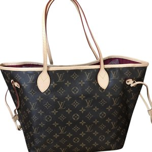 Louis Vuitton Neverfull Limited Edition Tote in Fuchsia