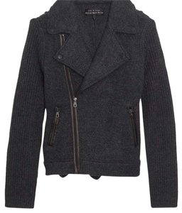rag & bone knit Moto jacket xxs Motorcycle Jacket