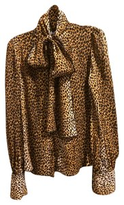 Dolce&Gabbana Button Down Shirt Leopard