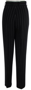 Escada Women Wool Trouser Pants Dark Gray