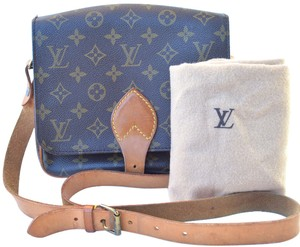 Louis Vuitton Cartouchiere Messenger Monogram Lv Cross Body Bag