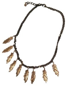 Stella & Dot Leaf necklace