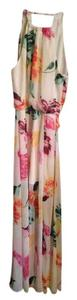 white multicolor Maxi Dress by Bisou Bisou Maxi Floral