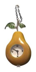 Marc by Marc Jacobs Pear Watch Necklace