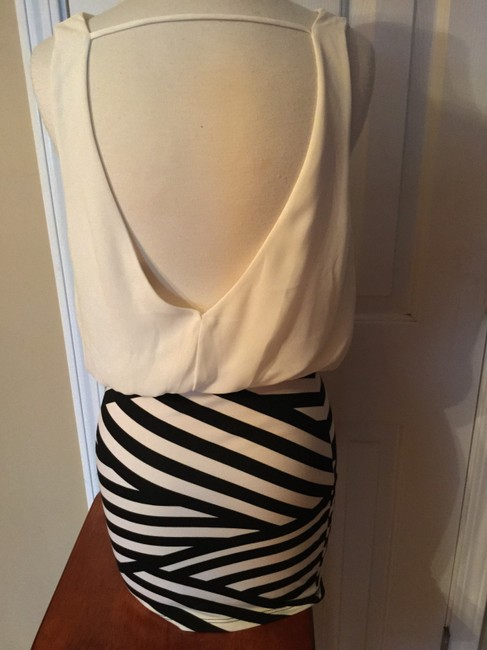 Charlotte Russe Open Cowl Date Breathable Bodycon Dress
