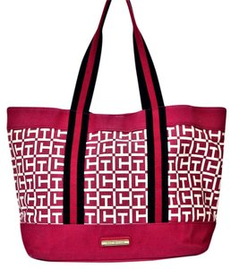 Tommy Hilfiger Navy Cute Tote in Pink