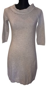 Merona short dress Light Gray on Tradesy