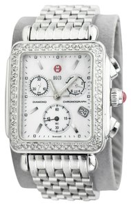 Michele Deco 71-6000 Mother of Pearl and Diamonds Chronograph Watch