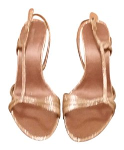 Nine West Ladies Nine West Gold Pumps
