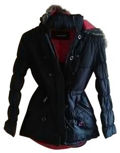 Urban Republic Collection Puffer Puffer Black Coat