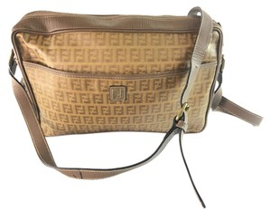 Fendi Vintage Leather Cross Body Bag