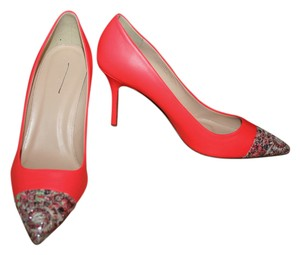 J.Crew Electric Red Pumps