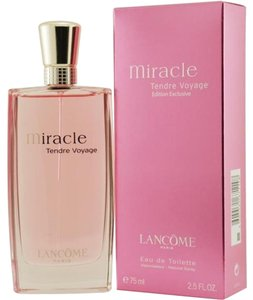 Other Miracle Tendre Voyage by Lancome for Women 2.5 oz,75 ml EDT Spray New.