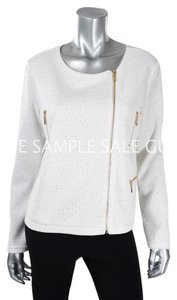 Joseph Ribkoff White/Gold Jacket