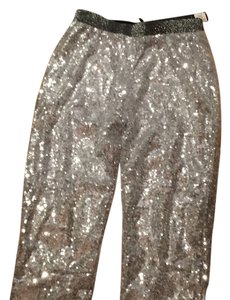 Other Sequinned Leggins Skinny Pants silver