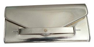 Tory Burch Metallic Gold Clutch