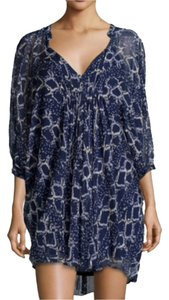 Diane von Furstenberg Silk Snake-print V-neck Dress