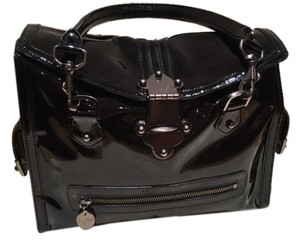 Tracy Reese Vintage Patent Satchel in Black