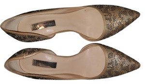 INTERNATIONAL CONCEPTS (INC) Ladies By Inc. Glitter animal print Pumps