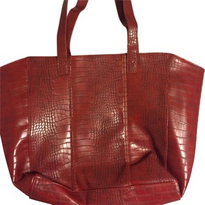 Neiman Marcus Tote in Red Wine