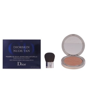 Dior DiorSkin Nude Tan, Nude Glow Sun Powder Kabuki Brush,002 Amber by Dior