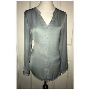 H&M Button Down Shirt Size 12 Button Down Shirt green
