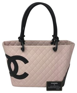 Chanel Cambon Pink Tote in light plink