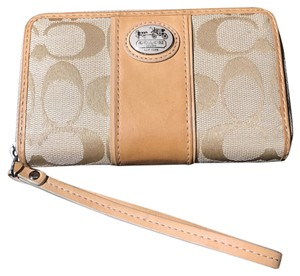 Coach Signature Collection Wristlet