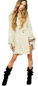 Free People short dress Almond on Tradesy