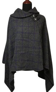 Ralph Lauren Plaid Sharkbite Cape