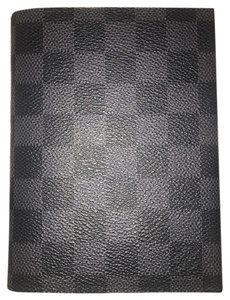 Louis Vuitton Damier Graphite Notebook Cover PM W/ LV Notebook Paper