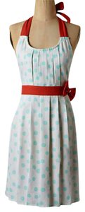 Anthropologie short dress Multi-color Vintage Look Happy Cheerful on Tradesy
