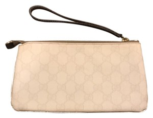 Gucci Wristlet in White